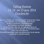 Dordrecht 2014.Dia1